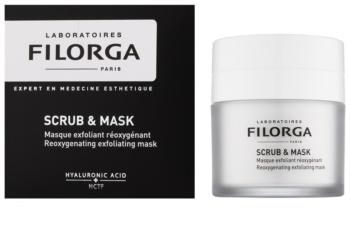 Filorga Medi-Cosmetique Scrub&Mask окисляваща ексфолираща маска за подновяване на кожните клетки