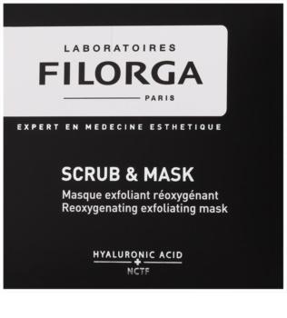 Filorga Medi-Cosmetique Scrub&Mask masque exfoliant oxygénant pour une régénération cellulaire