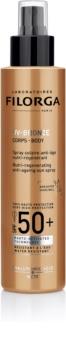 Filorga Medi-Cosmetique UV Bronze cuidado protetor e restaurador anti envelhecimento da pele SPF50+