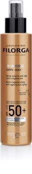 Filorga Medi-Cosmetique UV Bronze Protecție regenerativă împotriva îmbătrânirii pielii SPF50+