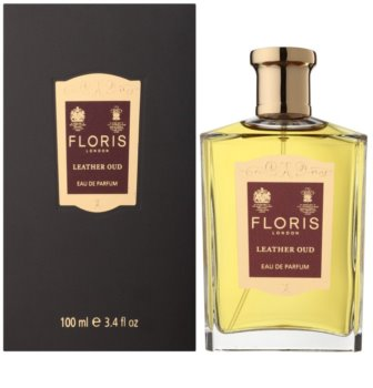 Floris Leather Oud Eau de Parfum unissexo 100 ml