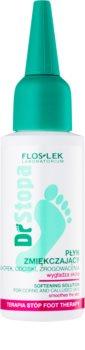 FlosLek Laboratorium Foot Therapy Fluid zum Aufweichen von verhornter Haut, Druckstellen und Hühneraugen