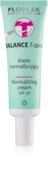 FlosLek Laboratorium Balance T-Zone crème de jour normalisante SPF 10