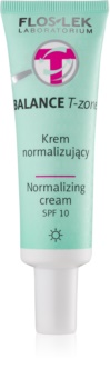 FlosLek Laboratorium Balance T-Zone Normalizing Day Cream SPF 10