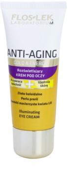 FlosLek Laboratorium Anti-Aging Gold & Energy krema za osvetljevanje predela okoli oči