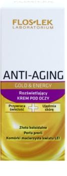 FlosLek Laboratorium Anti-Aging Gold & Energy crème illuminatrice yeux