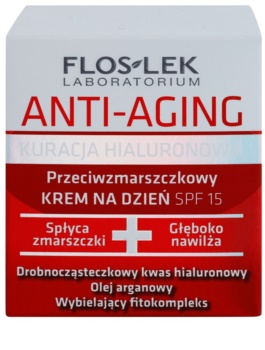 FlosLek Laboratorium Anti-Aging Hyaluronic Therapy crème de jour hydratante anti-âge SPF 15
