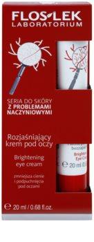 FlosLek Laboratorium Dilated Capillaries Brightening Cream for Eye Area