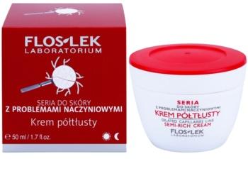 FlosLek Laboratorium Dilated Capillaries krepilna krema za razpokane žilice