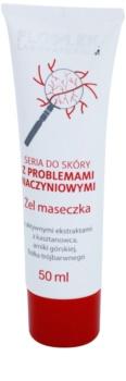 FlosLek Laboratorium Dilated Capillaries nočná gélová maska pre redukciu začervenania