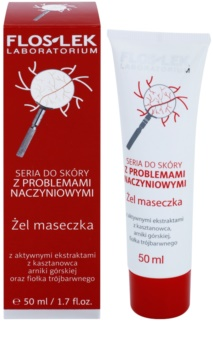 FlosLek Laboratorium Dilated Capillaries mascarilla-gel de noche para eliminar rojeces