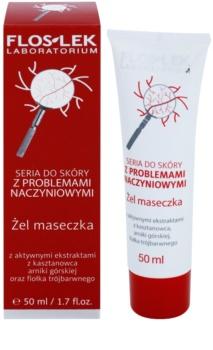 FlosLek Laboratorium Dilated Capillaries Night Gel Mask for Redness Reduction