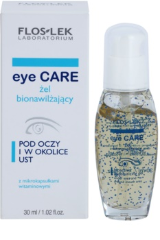 FlosLek Laboratorium Eye Care bioaktivní hydratační gel na okolí očí a rtů