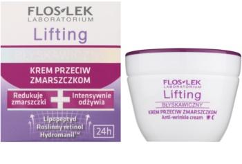 FlosLek Laboratorium Lifting Immediate protivráskový krém s liftingovým efektom