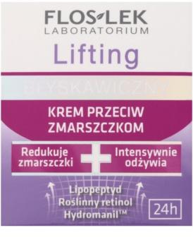 FlosLek Laboratorium Lifting Immediate krema proti gubam z učinkom liftinga