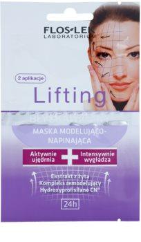 FlosLek Laboratorium Lifting Immediate Face Mask With Remodelling Effectiveness