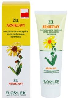 FlosLek Laboratorium Eye Care Arnica gel contour des yeux anti-cernes et anti-poches