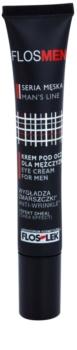 FlosLek Laboratorium FlosMen crème yeux anti-rides, anti-poches et anti-cernes