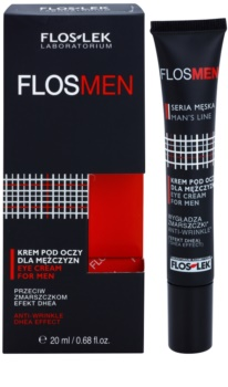 FlosLek Laboratorium FlosMen Eye Cream Anti Wrinkle, Follicles And Dark Circles