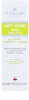 FlosLek Pharma Anti Acne matirajoča krema za kožo z nepravilnostmi