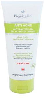 FlosLek Pharma Anti Acne čistilni gel za mastno k aknam nagnjeno kožo
