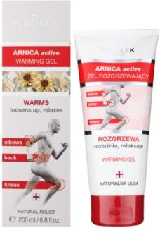 FlosLek Pharma Arnica Active gel de aquecimento para o relamento dos músculos e junções
