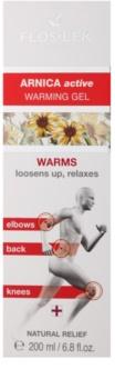 FlosLek Pharma Arnica Active wärmendes Gel zum Lockern von Muskeln und Gelenken
