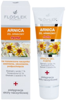 FlosLek Pharma Arnica Forte gel apaisant visage avec une tendance aux rougeurs