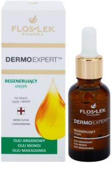 FlosLek Pharma DermoExpert Oils huile visage effet régénérant