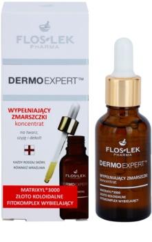 FlosLek Pharma DermoExpert Concentrate Intensiv-Serum mit Antifalten-Effekt
