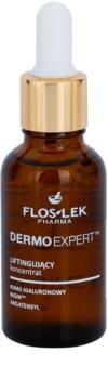 FlosLek Pharma DermoExpert Concentrate liftingové sérum na tvár, krk a dekolt