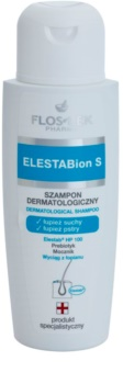 FlosLek Pharma ElestaBion S dermatološki šampon proti suhemu prhljaju