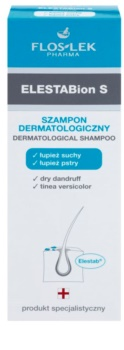 FlosLek Pharma ElestaBion S champô dermatológico contra caspa seca