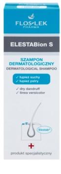 FlosLek Pharma ElestaBion S дерматологічний шампунь проти сухої лупи