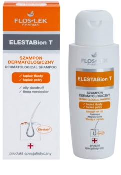 FlosLek Pharma ElestaBion T dermatologický šampon proti mastným lupům