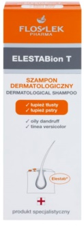 FlosLek Pharma ElestaBion T dermatologisches Shampoo gegen fettige Schuppen