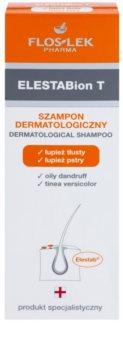 FlosLek Pharma ElestaBion T Sampon dermatologic pentru par gras si cu matreata