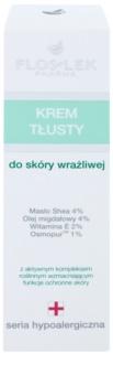 FlosLek Pharma Hypoallergic Line vysoko výživný nočný krém pre citlivú a podráždenú pleť