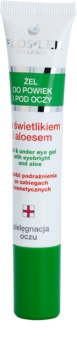 FlosLek Pharma Eye Care gel contour des yeux à l'euphraise et aloe vera