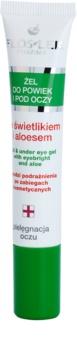 FlosLek Pharma Eye Care gel na oční okolí se světlíkem a aloe vera