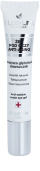 FlosLek Pharma Eye Care oční gel s protivráskovým účinkem