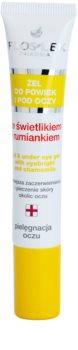 FlosLek Pharma Eye Care gel za predel okoli oči s smetilko in kamilico