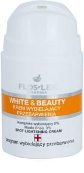 FlosLek Pharma White & Beauty bělicí krém pro lokální ošetření