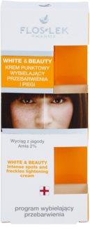 FlosLek Pharma White & Beauty tratamiento  localizado contra problemas de pigmentación