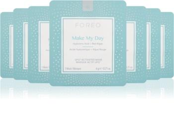 FOREO UFO™ Make My Day ochronna maseczka do twarzy o dzłałaniu nawilżającym