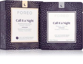 FOREO UFO™ Call It a Night noční revitalizační maska pro obnovu pleti s vyživujícím účinkem