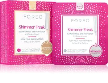 FOREO UFO™ Shimmer Freak rozjasňující maska proti otokům a tmavým kruhům