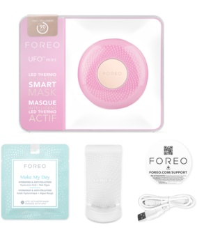 FOREO UFO™ Mini appareil sonique pour accélérer les effets des masques visage format voyage