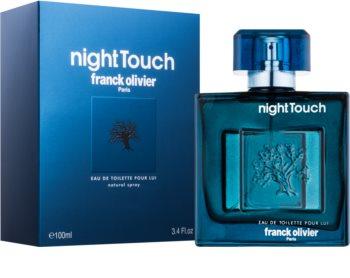 Franck Olivier Night Touch eau de toilette per uomo 100 ml