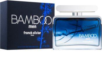 Franck Olivier Bamboo Men Eau de Toilette für Herren 75 ml
